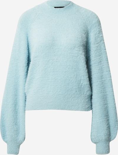 Bardot Pull-over 'BELL' en bleu clair, Vue avec produit