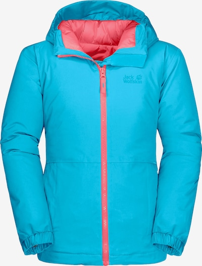 JACK WOLFSKIN Performance Jacket 'ARGON STORM' in Blue / Coral, Item view