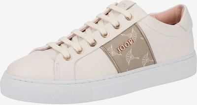 JOOP! Sneaker in creme / taupe / weiß, Produktansicht