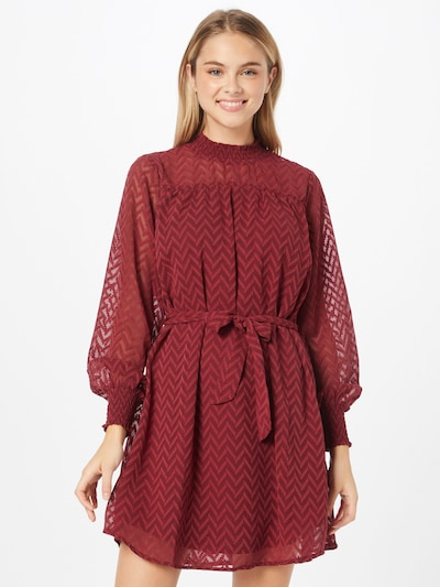 ONLY Dress 'SARAH' in Wine red, View model