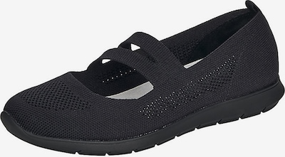 REMONTE Ballet Flats with Strap in Black, Item view