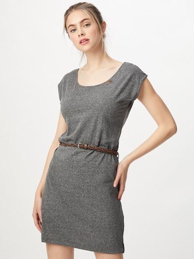Ragwear Kleid 'Sofia' in dunkelgrau, Modelansicht