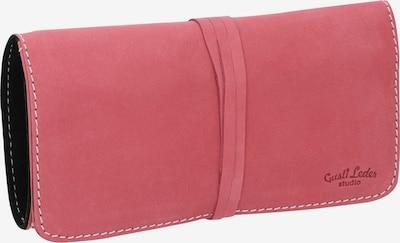 Gusti Leder Federmappe Federtasche 'Casper' in pink, Produktansicht