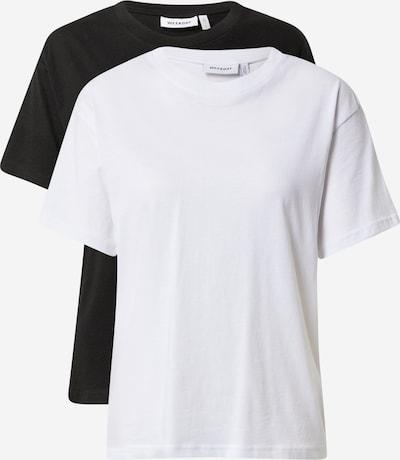 WEEKDAY T-shirt 'Alanis' i svart / vit, Produktvy