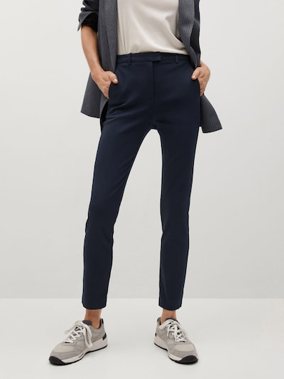 MANGO Kalhoty 'Cola' - námořnická modř, Model/ka