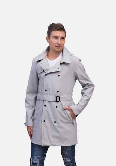 Dingy Rhythm Of The Rain Regenmantel Humphrey in grau, Modelansicht