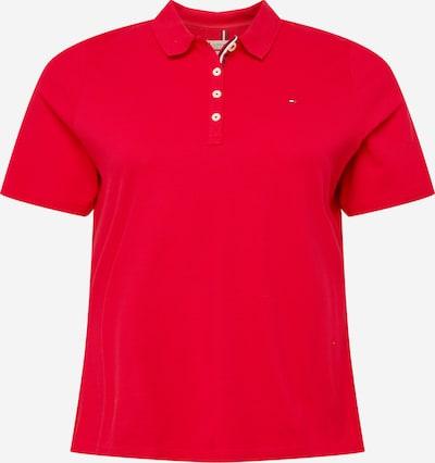 Maglietta Tommy Hilfiger Curve di colore rosso, Visualizzazione prodotti