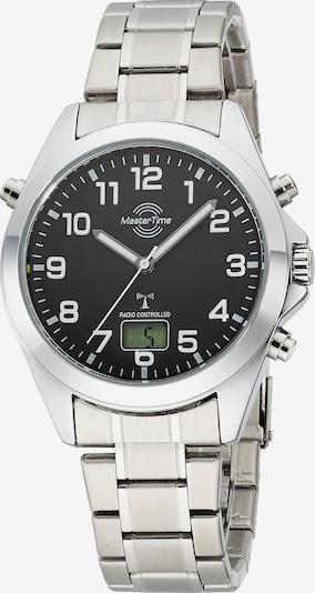 Master Time Uhr in schwarz / silber, Produktansicht