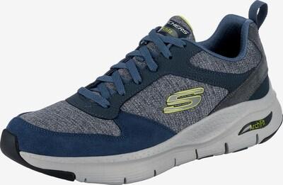 SKECHERS Sneaker in navy / dunkelblau / blaumeliert, Produktansicht