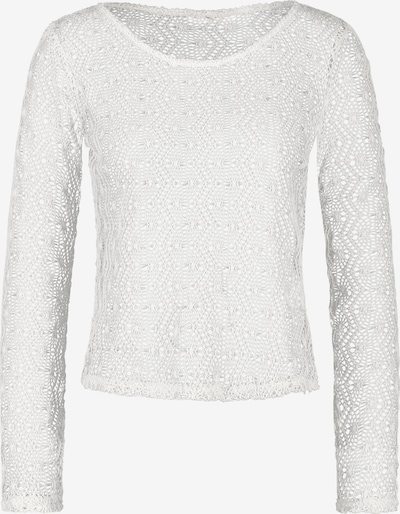 HOTEL DE VILLE Langarmshirt 'Nadja' in weiß, Produktansicht
