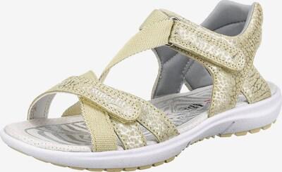 SUPERFIT Sandalen 'RAINBOW' in gelb, Produktansicht