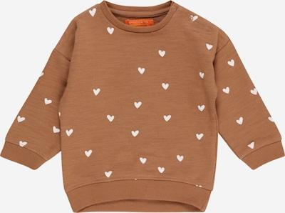 STACCATO Sweatshirt in braun / weiß, Produktansicht