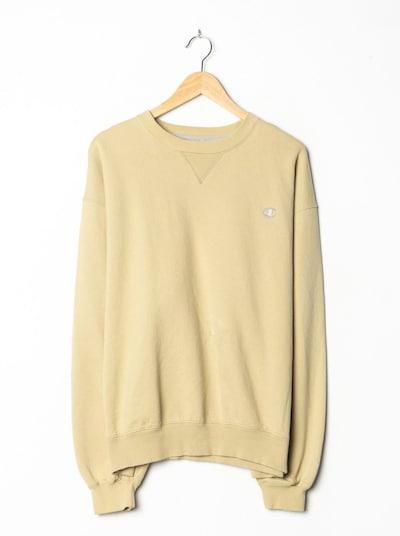 Champion Authentic Athletic Apparel Sweatshirt in XL/XXL in sand, Produktansicht