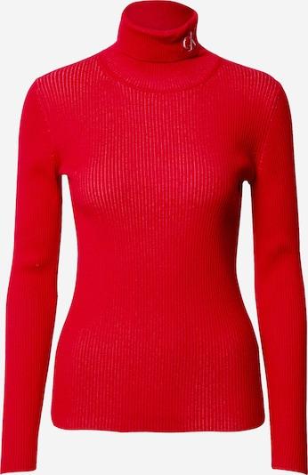 Calvin Klein Jeans Pullover in rot, Produktansicht