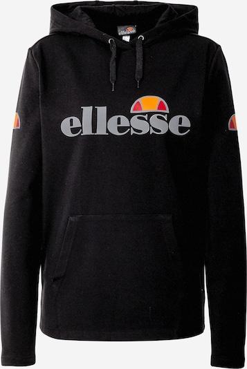 ELLESSE Camiseta deportiva en negro / blanco, Vista del producto