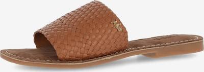 MEXX Pantolette 'GIBRALTA' i brun, Produktvy