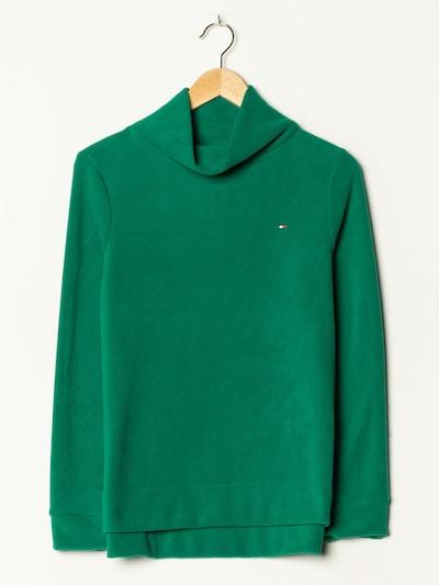 TOMMY HILFIGER Fleece in S-M in grasgrün, Produktansicht