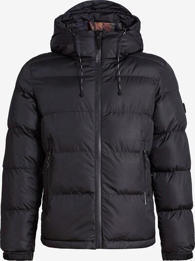 khujo Winterjas ' STEAMER ' in de kleur Zwart, Productweergave