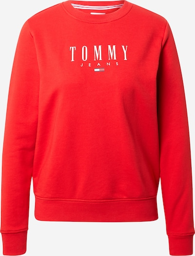 Tommy Jeans Sweatshirt in Light red / White, Item view
