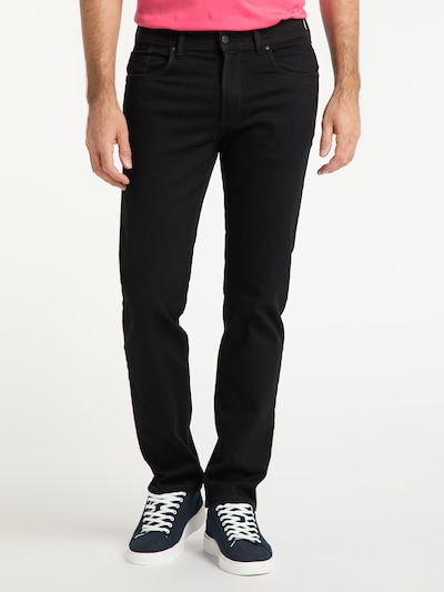 PIONEER Jeans 'THOMAS' in schwarz / black denim, Modelansicht