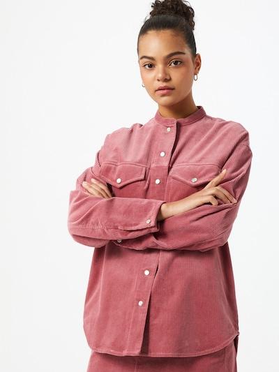 Samsoe Samsoe Blouse in de kleur Pink, Modelweergave