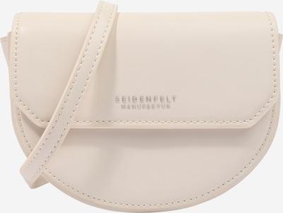 Seidenfelt Manufaktur Sac à bandoulière 'Tjörn' en nude / argent, Vue avec produit