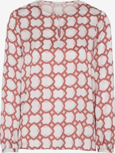 ETERNA Langarm Bluse '1863 by ETERNA - PREMIUM' in orange / weiß, Produktansicht