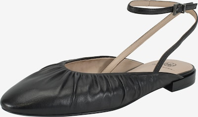 Ekonika Ballet Flats with Strap in Black, Item view