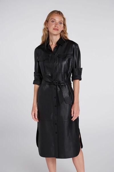 OUI Blusenkleid in schwarz, Modelansicht