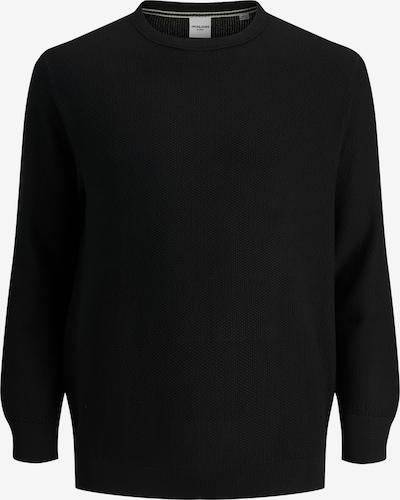 Jack & Jones Plus Pullover 'Aaron' in schwarz, Produktansicht