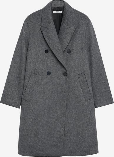 MANGO Manteau mi-saison 'Bartoli' en gris foncé, Vue avec produit