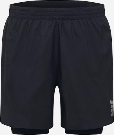 ADIDAS PERFORMANCE Sporthose in grau / schwarz, Produktansicht