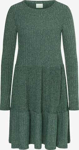 Robes en maille 'Elita' VILA en vert