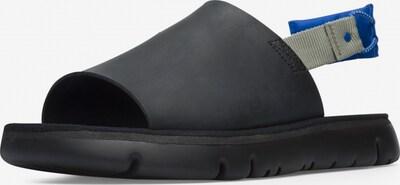 CAMPER Sandale in türkis / royalblau / grau / schwarz, Produktansicht