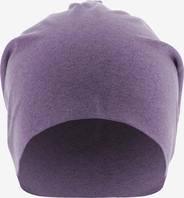MSTRDS Beanie ' Heather' in Purple