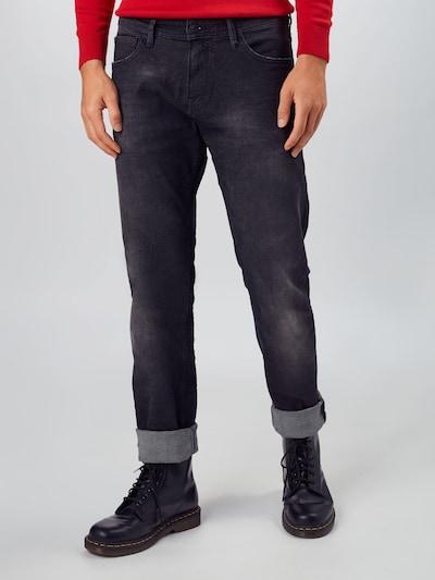 Džinsai 'PIERS' iš TOM TAILOR DENIM , spalva - juodo džinso spalva, Modelio vaizdas