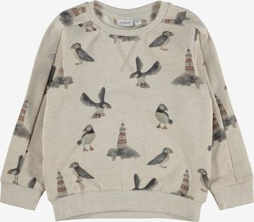 NAME IT Sweatshirt 'Oskar' in Beige