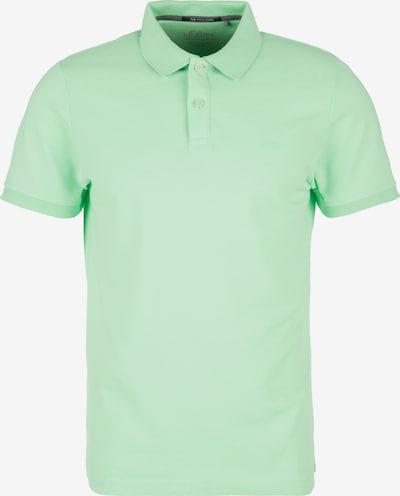 s.Oliver Poloshirt in mint, Produktansicht
