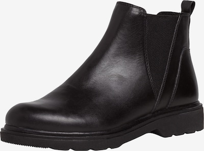 MARCO TOZZI Chelsea Boots in schwarz: Frontalansicht