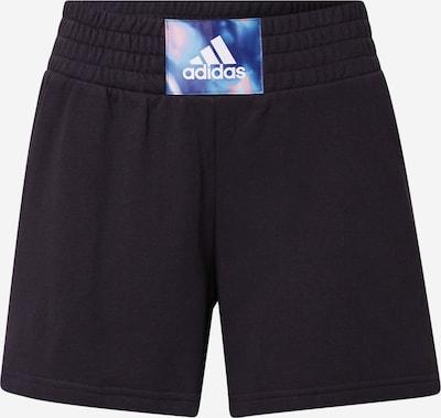 ADIDAS PERFORMANCE Pantalon de sport 'UFORU' en bleu ciel / bleu clair / rose ancienne / noir / blanc, Vue avec produit