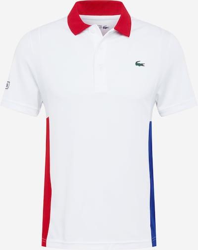 Sportiniai marškinėliai iš Lacoste Sport , spalva - mėlyna / raudona / balta, Prekių apžvalga