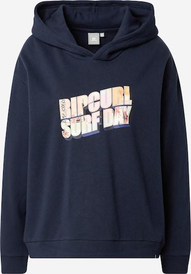 RIP CURL Sportsweatshirt in navy / gelb / pastellrot / weiß, Produktansicht