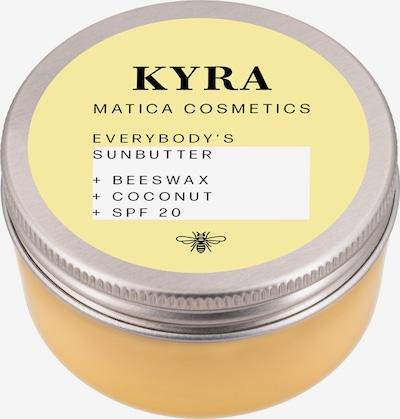 Matica Cosmetics Bodybutter 'Kyra' in gelb / silber, Produktansicht