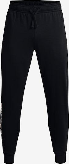 UNDER ARMOUR Sporthose 'Project Rock' in grau / schwarz / weiß, Produktansicht