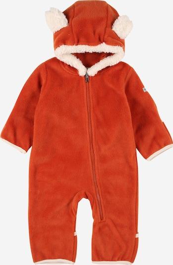 COLUMBIA Функционален костюм 'Tiny Bear II' в тъмнооранжево / бяло, Преглед на продукта
