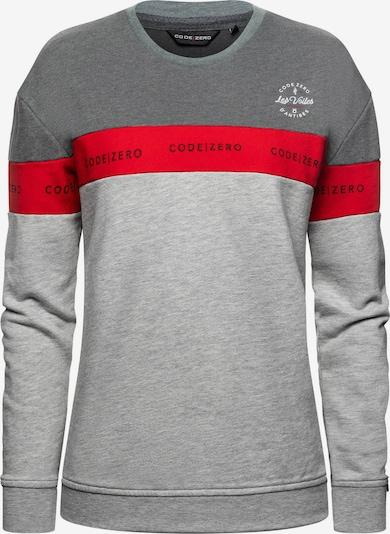 CODE-ZERO Sweatshirt 'Point Belaye' in de kleur Grijs, Productweergave