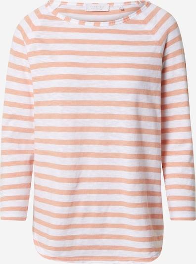 Rich & Royal T-shirt en pêche / blanc, Vue avec produit