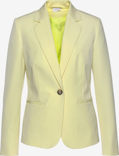 LASCANA Blazer in gelb, Produktansicht