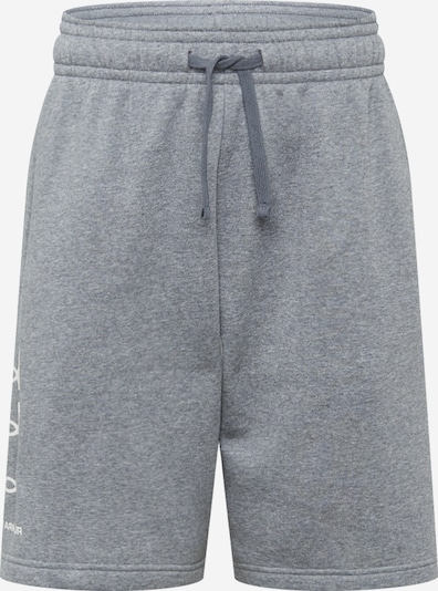 UNDER ARMOUR Hose 'UA Rival Flc Multilogo Short' in grau, Produktansicht