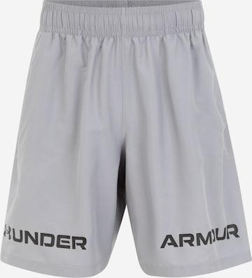 UNDER ARMOUR Shorts in Grau